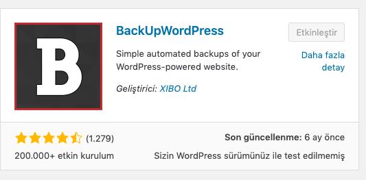 dijitalzade backupwordpress, wordpress güvenlik önlemleri