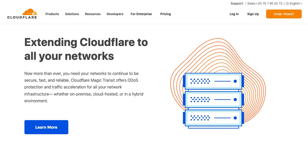 Wordpress güvenlik önlemleri, cloudflare ddos koruması hakkında bilgilendirme