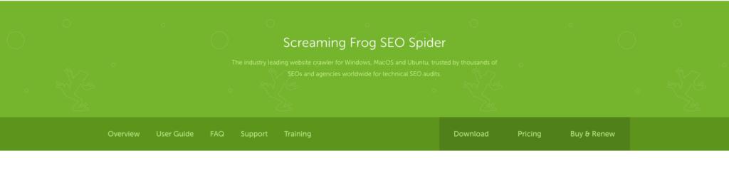 screaming frog ücretsiz seo araçları