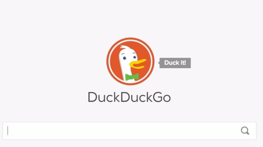 en popüler arama motorları, duckduckgo logo