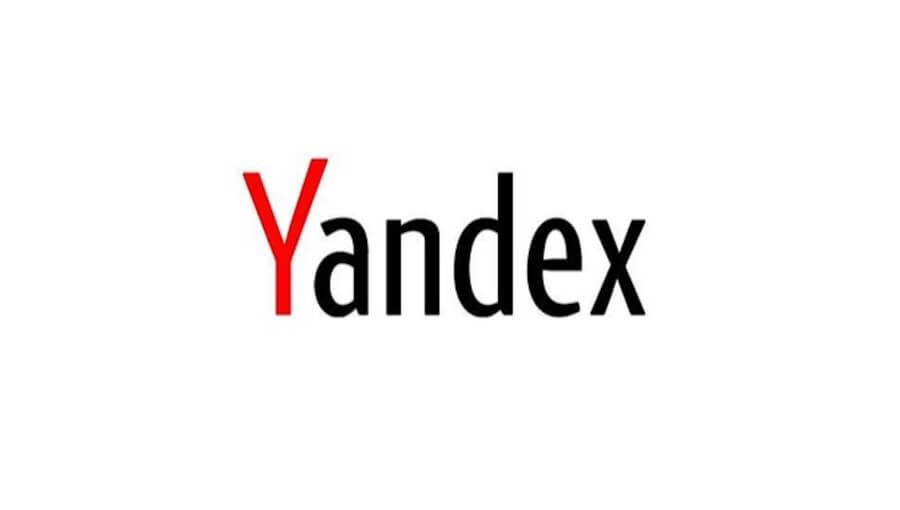 en popüler arama motorları, yandex logo