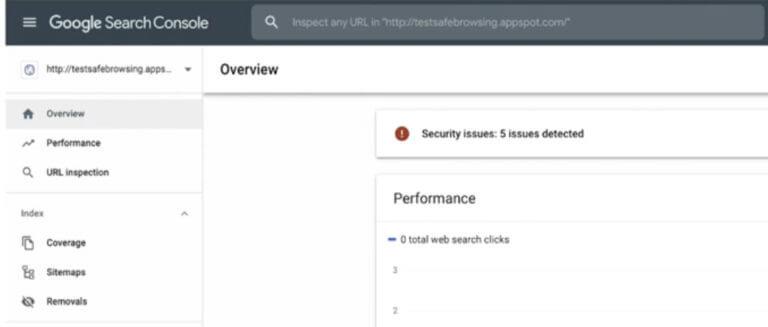 Google search console ile website güvenliği