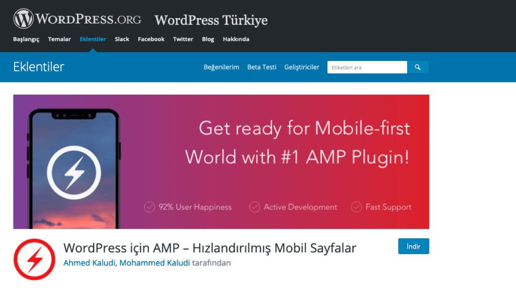 amp for wordpress - en iyi wordpress eklentileri