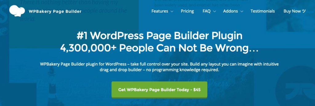 wpbakery page builder - en iyi wordpress eklentileri