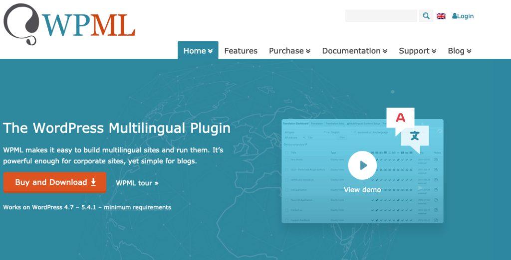wpml çoklu dil desteği eklentisi - wordpress eklentileri