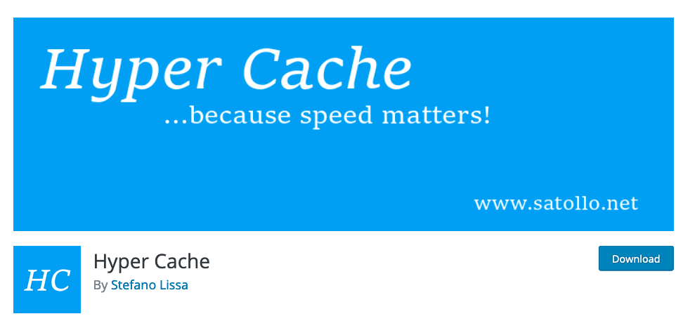 En İyi WordPress Cache Eklentisi, Hyper Cache
