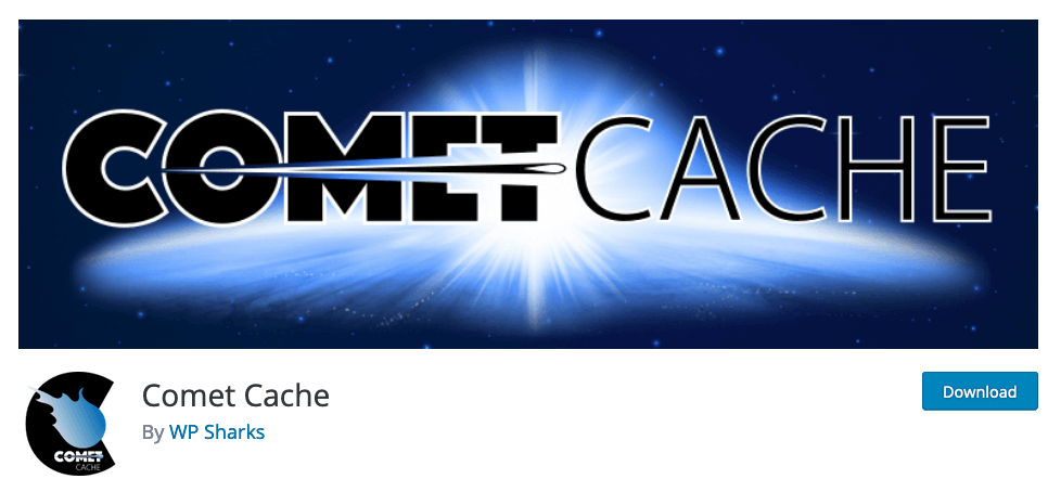 En İyi WordPress Cache Eklentisi, Comet cache
