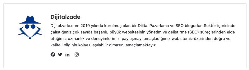 Dijitalzade.com yazar kutusu