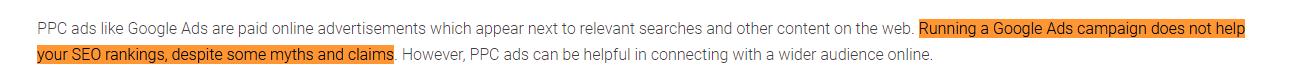 Google Ads ile SEO arasındaki İlişki