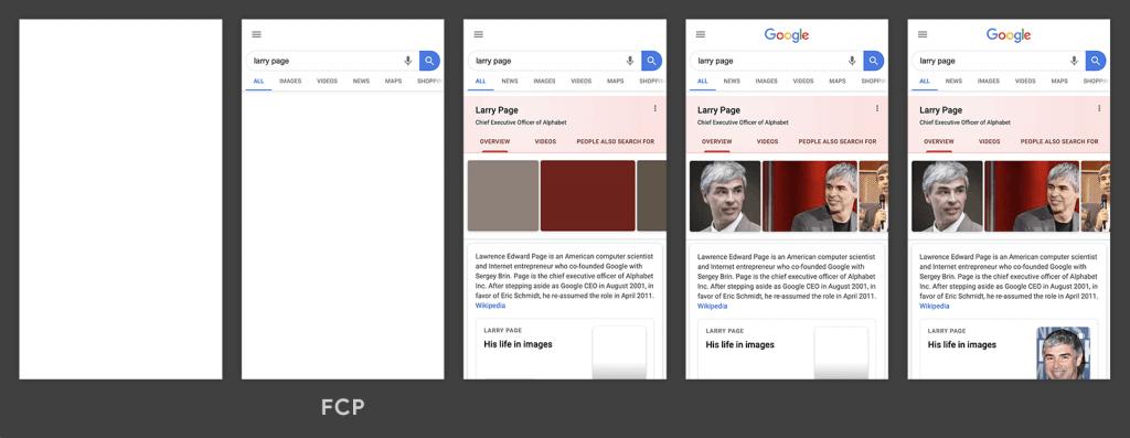 Google tarafından paylaşılan FCP örneği
