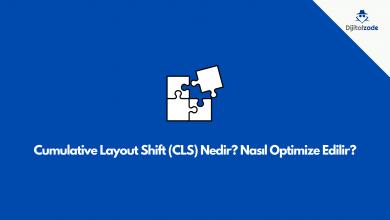 Cumulative layout shift nedir? nasıl optimize edilir ? Diijtalzade CLS öne çıkan görsel